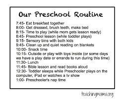 Preschool Planning Sheet Free Printable Teaching Mama