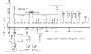 battery ecu secrets and teardown warning geek content priuschat for reference here is the simplified schematic of it s wiring in the prius
