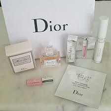 new never used dior beauty bundle dior gift bag