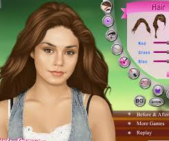 vanessa hudgens makeover game