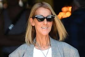 Céline Dion steps out in '<b>Titanic</b>' <b>Heart of</b> the Ocean <b>necklace</b>