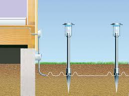 diy types outdoor lighting diy how install low voltage transformer lights to landscape deck guide