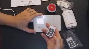 Review & How To Set Up <b>KERUI</b> G18 Phone APP GSM Home Alarm ...