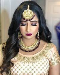 south asian bridal makeup artist and hairstylist brton