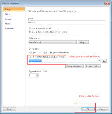 3 In Report Procedure Builder Parameters How 0 To Pass Stored