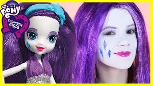 my little pony rarity makeup tutorial equestria doll cosplay kittiesmama you