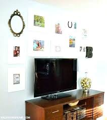 above tv decor wall decor above wall behind decorating that giant e above the balancing home above tv decor decorating ideas for wall