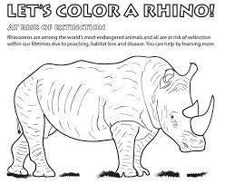 Wildlife Coloring Pages For Kids