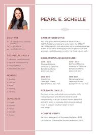 Resume Format 2018 Inspiration 28 Resume Format Free Word PDF Documents Download Free