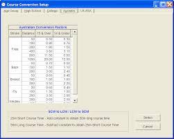 Usa Swimming Time Conversion Chart Course Conversion