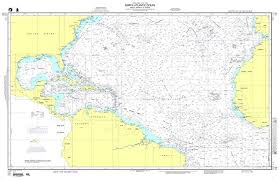 Ocean Depth Chart Nga Chart 12 North Atlantic Ocean North America To Africa