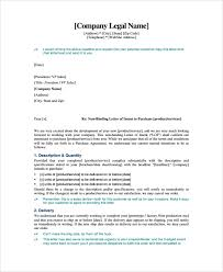 Letter Of Intent To Purchase Business Template Best 48 Sample Letter Of Intent Contracts Sample Templates