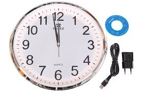 wall clock wifi full hd motion detection