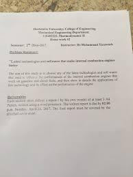 Solved: Hashemite University: College Of Engineering Mecha ...