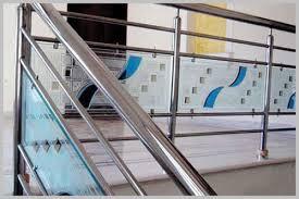 designer glass railing