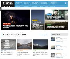 Newspaper Web Template Free 15 News Channel Html5 Website Themes Templates Free