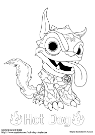 Skylanders Coloring Page Printable Skylander Hot