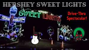 Hershey Sweet Lights 2018 Drive Thru Spectacular
