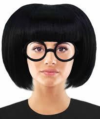 Incredibles Costume Designer Incredible 2 Fashion Designer Edna Mode Wig Edna Mode Wig