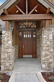 craftsman front doorCraftsman Front Door with Transom window  Pathway in Issaquah WA