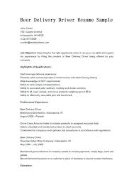Delivery Driver Resume Extraordinary Delivery Resume Sample Delivery Driver Sample Resume Large By Teddy