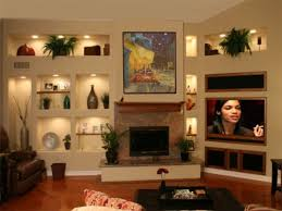 niches for tv wall unit