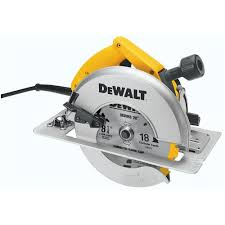 dewalt skil saw. dewalt 8-1/4 in. (210 mm) circular saw with rear pivot depth of cut adjustment and electric brake-dw384 - the home depot dewalt skil