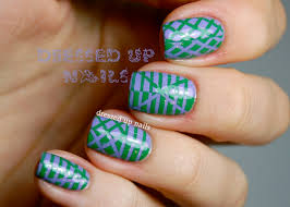 Nail Arts With Tape | Nail Art Designs