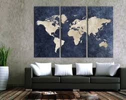 >mehreen farooq on etsy travel world map canvas wall art world map canvas canvas world map wall art canvas print