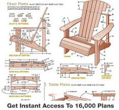 woodworking project plans for beginners. adirondack chair plans woodworking project for beginners y