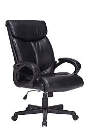 office leather chair. VIVA OFFICE Bonded Leather Chair High Back Swivel With Thick Padded Backrest And Seat Office