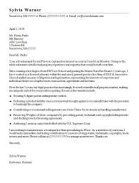 Legal Cover Letter Sample Everything Of Letter Sample