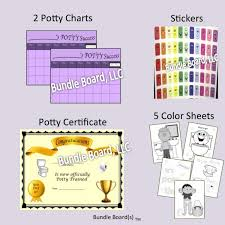 Potty Training Chart Purple