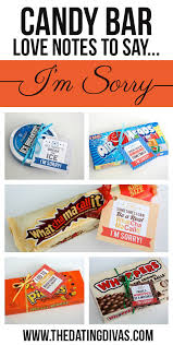 candy bar love notes to say i m sorry