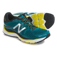 new balance shoes blue. new balance m880v6 running shoes (for men) in blue/yellow blue l