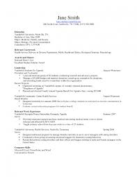 Medical School Resume Format Cv Template Updated Sweet Harvard