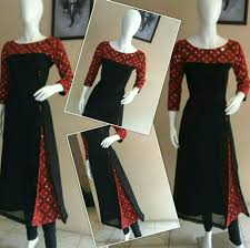 Kalamkari Churidar Neck Designs For Stitching Gr8 Idea Dress Neck Designs Designs For Dresses Salwar