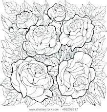 rose coloring book coloring book pages flowers coloring roses rose coloring coloring page with roses and leaves rose coloring coloring book christina rose