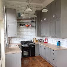 Full Size of Kitchen:grey High Gloss Kitchen B&q B&q Cream Gloss Kitchen  Reviews Santini ...