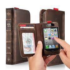 <b>Twelve South BookBook</b> кожаный <b>чехол</b>-книга для iPhone 4 (12 ...