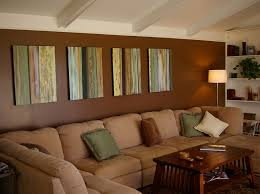Creative Brown Living Room Design Image