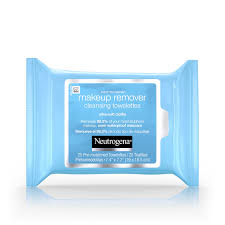 neutrogena makeup remover cleansing towelettes daily face wipes to remove dirt oil makeup waterproof maa 25 ct pack of 6