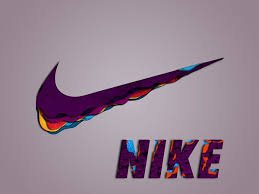 nike shoes logo pictures. nike logo - paint swoosh shoes pictures