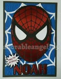 Spiderman Template Spiderman Birthday Card Template Free Leanjava