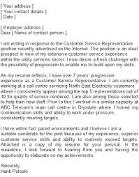 Cover Letter For Customer Service Representative Whitneyport Daily Com