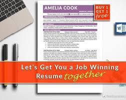 Simple Resume Clean Resume Resume Template Word Classic Resume