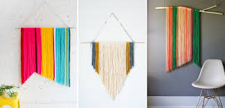 wool wall decor image credits from left to right i diy