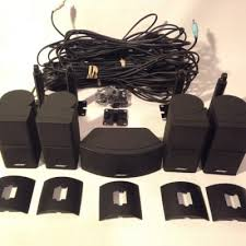 bose jewel cube speakers for sale. bose premium jewel cube speakers + wall mounts \u0026 speaker wires for sale in acworth, ga - 5miles: buy and sell