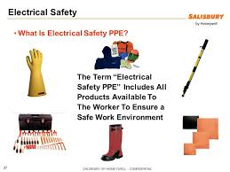 Electrical Ppe Chart Electrical Safety In The Workplace Ppt Video Online Download