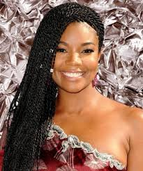 Unprofessional Hairstyles 27 Wonderful Gabrielle Union Twists Hair Natural Hairstyles For Work